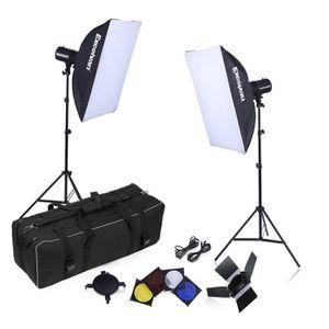 KIT STUDIO PHOTO Excelvan Kit Éclairage Photo Studio 5070K Soft Box