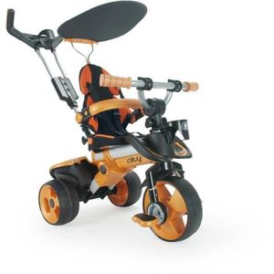 TRICYCLE INJUSA Tricycle City Orange