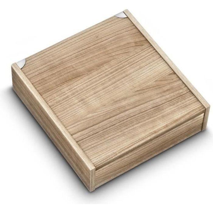 albert de thiers coffret en bois pour m nag re 48 pi ces c ruse vide achat vente m nag re. Black Bedroom Furniture Sets. Home Design Ideas