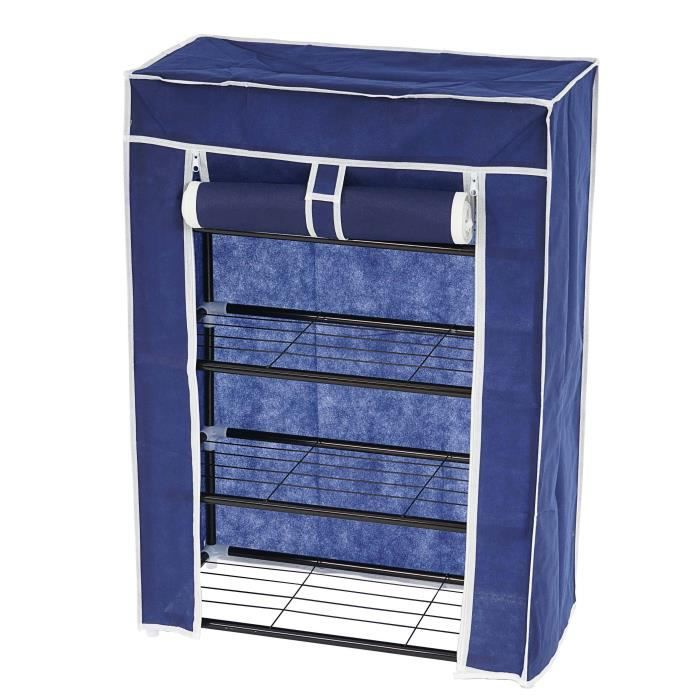 armoire pliante range chaussures de camping 84x60x29cm. Black Bedroom Furniture Sets. Home Design Ideas