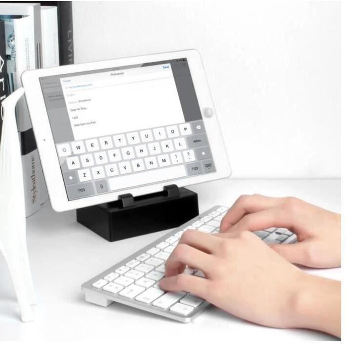 clavier sans fil bluetooth azerty ultra mince pour tous prix pas cher cdiscount. Black Bedroom Furniture Sets. Home Design Ideas