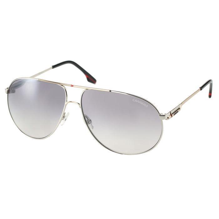 carrera lunettes de soleil homme argent gris achat vente lunettes de soleil cdiscount. Black Bedroom Furniture Sets. Home Design Ideas