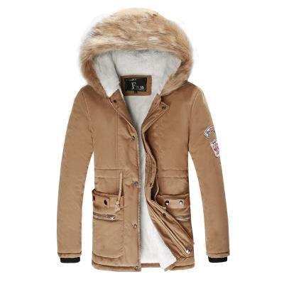 Nouvelle collection veste ouat e homme capuch kaki achat vente doudoune cdiscount - Veste homme decontracte ...