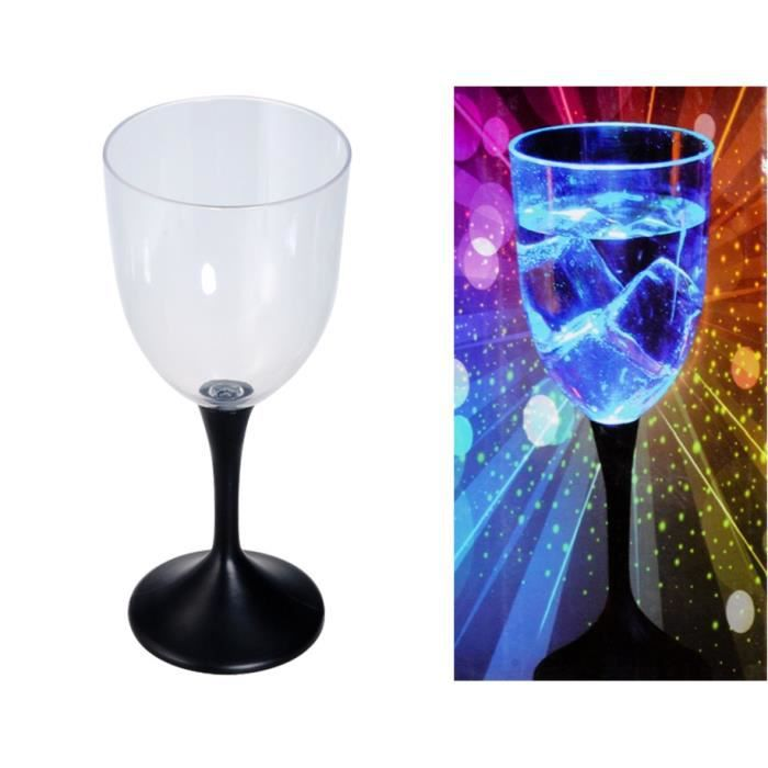 Sy1410 310ml led creative clignotant verres vin coupe for Utiliser un coupe verre