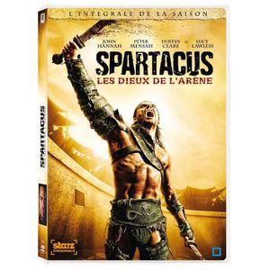 DVD SÉRIE DVD Coffret Spartacus : les dieux de l'arène