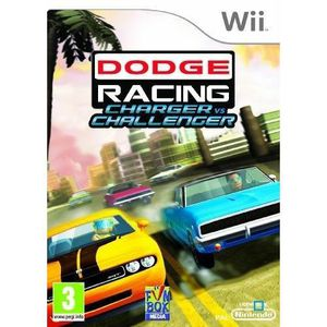 JEUX WII DODGE RACING: CHARGER VS CHALLENGER / Jeu Wii