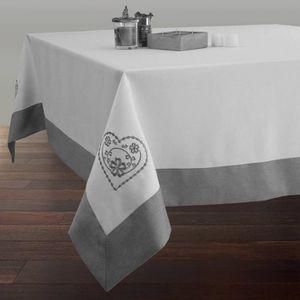 nappe carre en 180 achat vente nappe carre en 180 pas cher cdiscount. Black Bedroom Furniture Sets. Home Design Ideas