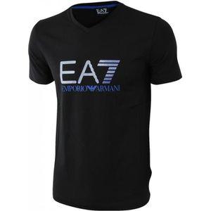 T-SHIRT T-Shirt Emporio Armani Homme EA7 NOIR