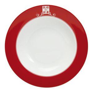 assiette rouge porcelaine achat vente assiette rouge porcelaine pas cher cdiscount. Black Bedroom Furniture Sets. Home Design Ideas