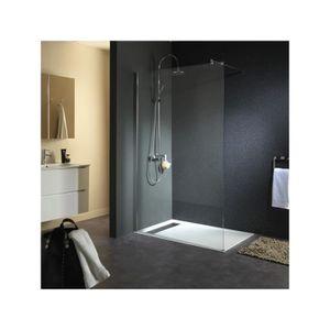 paroi douche italienne achat vente paroi douche italienne pas cher cdiscount. Black Bedroom Furniture Sets. Home Design Ideas