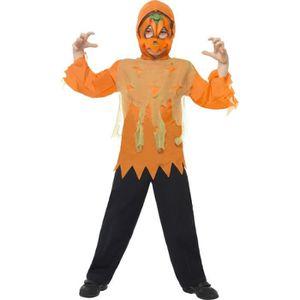 dguisement panoplie kit deguisement citrouille enfant