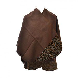 echarpe leopard marron achat vente echarpe leopard marron pas cher cdiscount. Black Bedroom Furniture Sets. Home Design Ideas