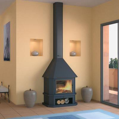 chemin e m tallique hanse 17 5 kw ch42 achat vente. Black Bedroom Furniture Sets. Home Design Ideas