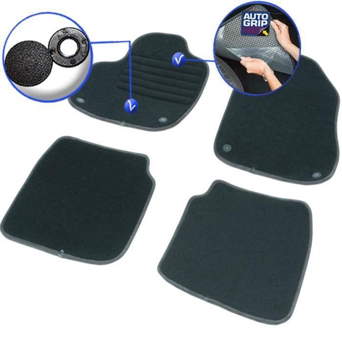 pour Fiat 500 L (du00e8s 09/2012) - Achat / Vente tapis de sol Tapis ...