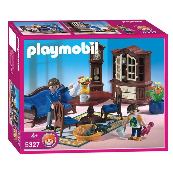 Playmobil famille salle manger achat vente univers for Salle manger playmobil