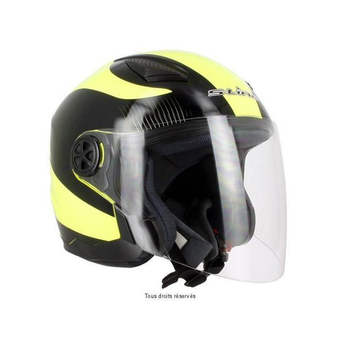 Jet s200 graph noir jaune l deco jaune fluo achat for Accessoire deco jaune