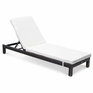 Transat bain de soleil en resine achat vente transat for Chaise longue en resine tressee pas cher