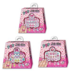 faux ongles enfant achat vente faux ongles enfant pas cher cdiscount. Black Bedroom Furniture Sets. Home Design Ideas