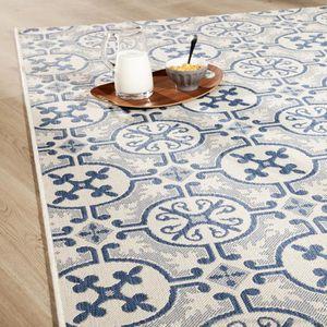 tapis carreaux de ciment achat vente tapis carreaux de ciment pas cher cdiscount. Black Bedroom Furniture Sets. Home Design Ideas
