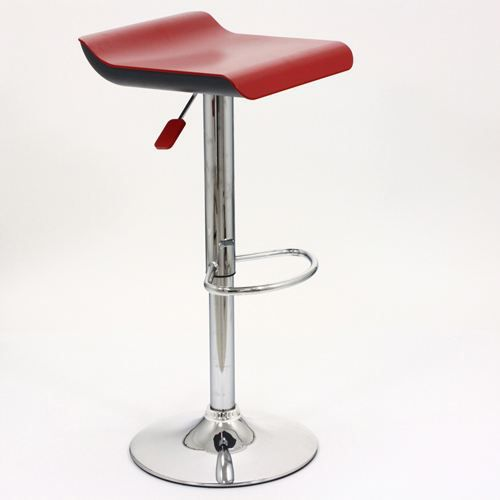 tabouret de bar nino rouge achat vente tabouret de bar acier chrom ab. Black Bedroom Furniture Sets. Home Design Ideas