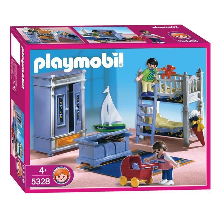 Playmobil enfants chambre traditionelle achat vente - Playmobil chambre enfant ...