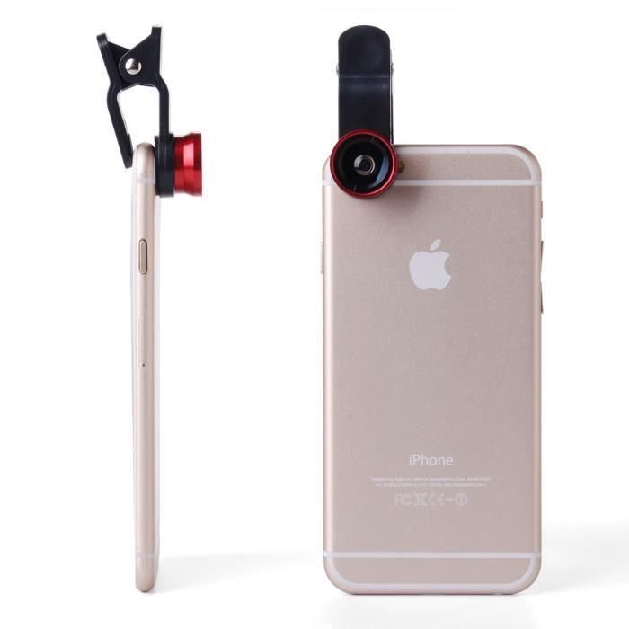 kit de t l phone cam ra pour smartphone iphone achat objectif pour telephone pas cher avis et. Black Bedroom Furniture Sets. Home Design Ideas