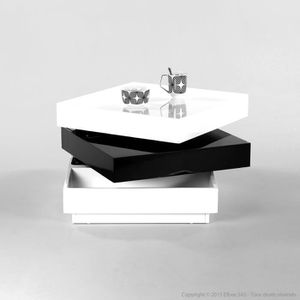 table basse carre laquee blanc achat vente table basse carre laquee blanc pas cher les. Black Bedroom Furniture Sets. Home Design Ideas