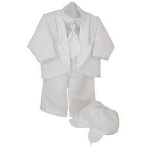 COSTUME - TAILLEUR Tenue de baptême blanche Paulo -…