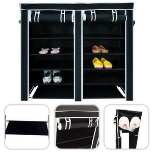 armoire chaussure toile achat vente armoire chaussure toile pas cher cdiscount. Black Bedroom Furniture Sets. Home Design Ideas