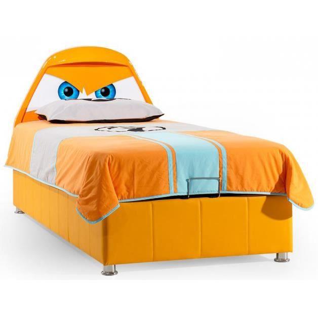 lit coffre enfant disney planes 90x200 cm achat vente. Black Bedroom Furniture Sets. Home Design Ideas
