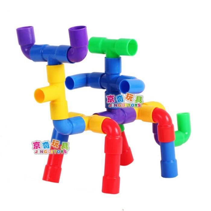 Jouet de Construction Tuyau Multicolore pour Enfant ...