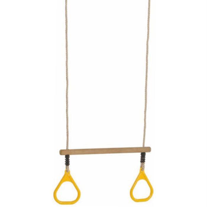 paire d 39 anneaux trapeze pour portique en bois achat vente agr s de balan oire anneaux. Black Bedroom Furniture Sets. Home Design Ideas