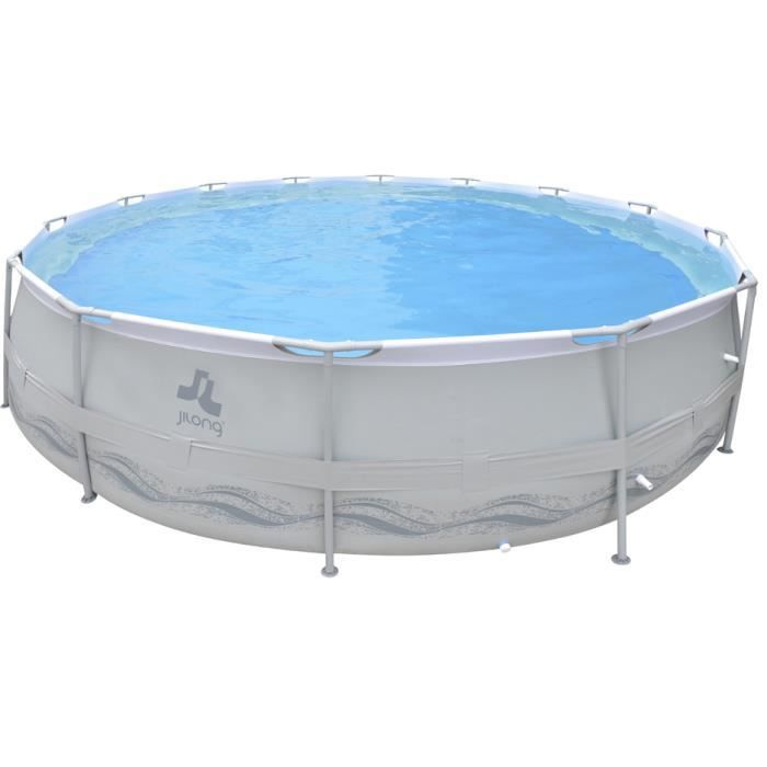 Piscine ronde tubulaire 540 x 122 cm achat vente for Piscine ronde tubulaire
