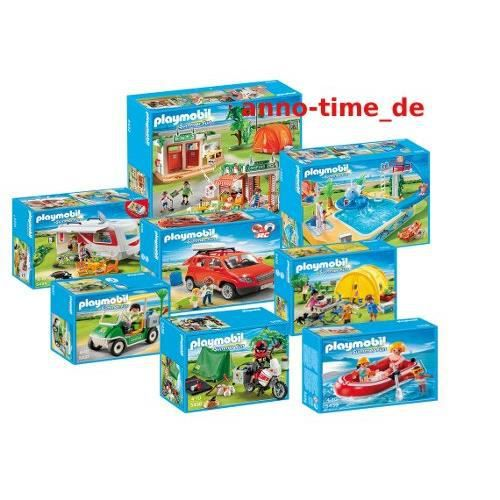 Playmobil 5432 camping set complet achat vente for Piscine playmobil 5433