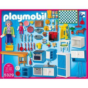 Playmobil city life la vie la maison achat vente for Playmobil cuisine 5329