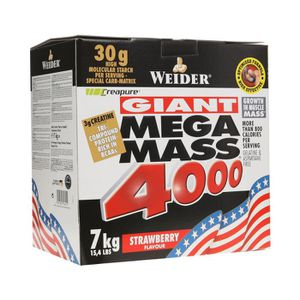 WEIDER MEGA MASS 4000 Fraise 7 kg