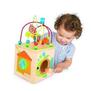 cube en bois multi d 39 activit s achat vente spirale tortillon 0803516515330 cdiscount. Black Bedroom Furniture Sets. Home Design Ideas
