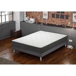 ensemble matelas sommier achat vente ensemble matelas sommier pas cher soldes cdiscount. Black Bedroom Furniture Sets. Home Design Ideas