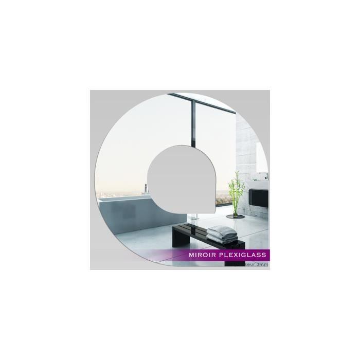 Miroir plexiglass acrylique design 6 ref mir 160 for Miroir qui s ouvre