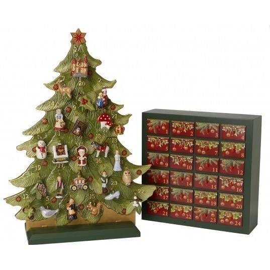 Wooden Advent Calendar Large Drawers.From Then To Now X Large White ...