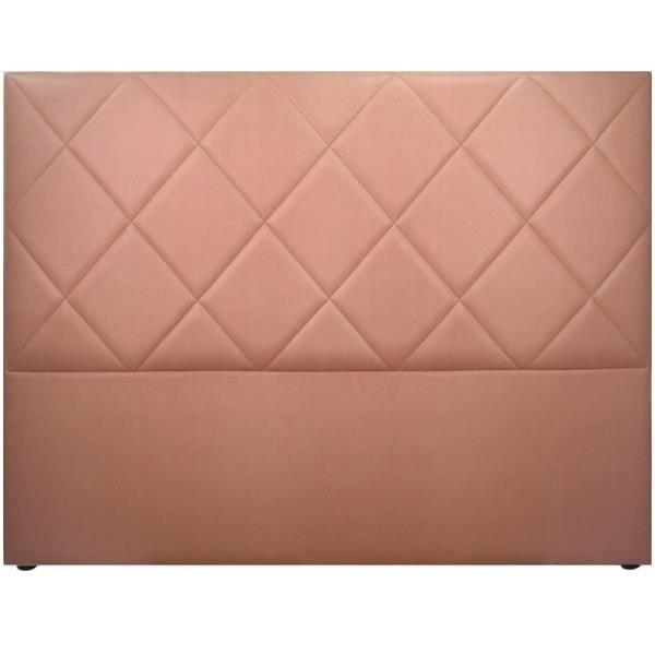 T te de lit rose en simili cuir saffiano achat vente t te de lit les so - Tete de lit discount ...