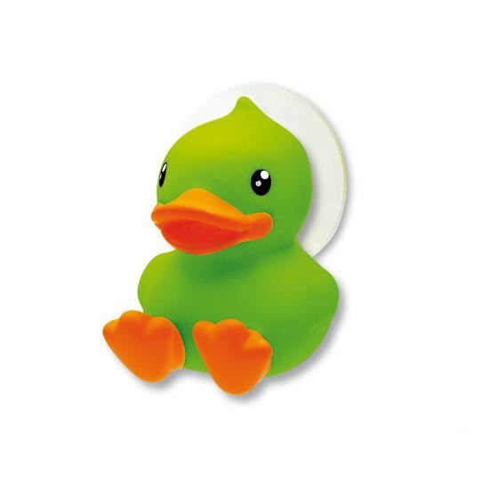 Porte brosse dents ventouse canard vert orange achat - Porte brosse a dent ventouse ...