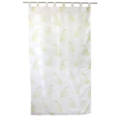g zze rideau voilage accra 140x255 cm transparent bandes color es opaque motif grandes. Black Bedroom Furniture Sets. Home Design Ideas