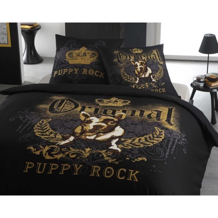 housse de couette rock. Black Bedroom Furniture Sets. Home Design Ideas