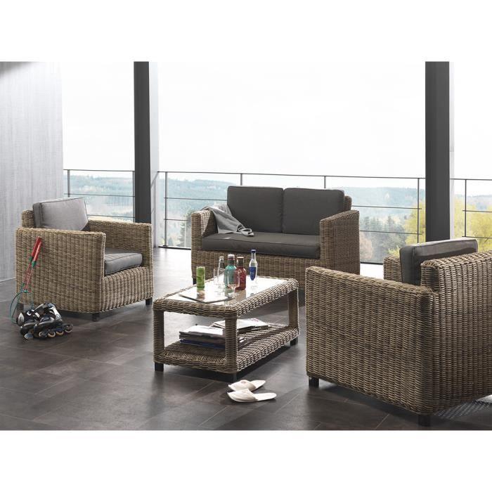 salon de jardin modena naturel achat vente salon de jardin salon de jardin modena natur. Black Bedroom Furniture Sets. Home Design Ideas