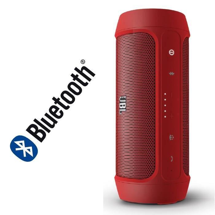 jbl charge 2 enceinte bluetooth portable rouge enceinte nomade avis et prix pas cher soldes. Black Bedroom Furniture Sets. Home Design Ideas