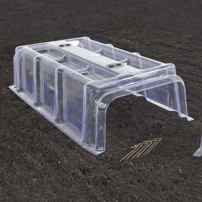 tunnel rigide 6 piquets achat vente serre de jardinage tunnel rigide 6 piquets cdiscount. Black Bedroom Furniture Sets. Home Design Ideas