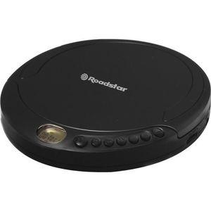 ROADSTAR PCD 498 Baladeur CD MP3 - Affichage LCD Anti Shock 120s - Casque De Haute Qualité Avec Adaptateur Secteur
