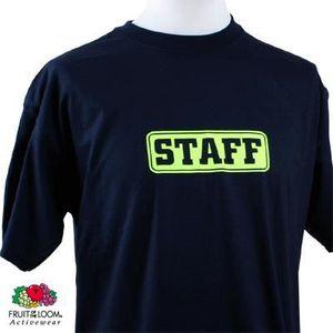 T-SHIRT Tee-shirt STAFF FLUO Portez ce t...