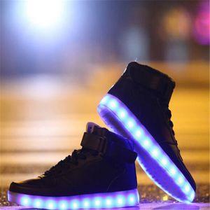 BASKET Nouveau 2016 grande taille 35 - 46 USB LED chaussu
